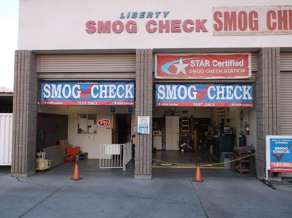 LIBERTY SMOG CHECKl Smog Check Cathedral City